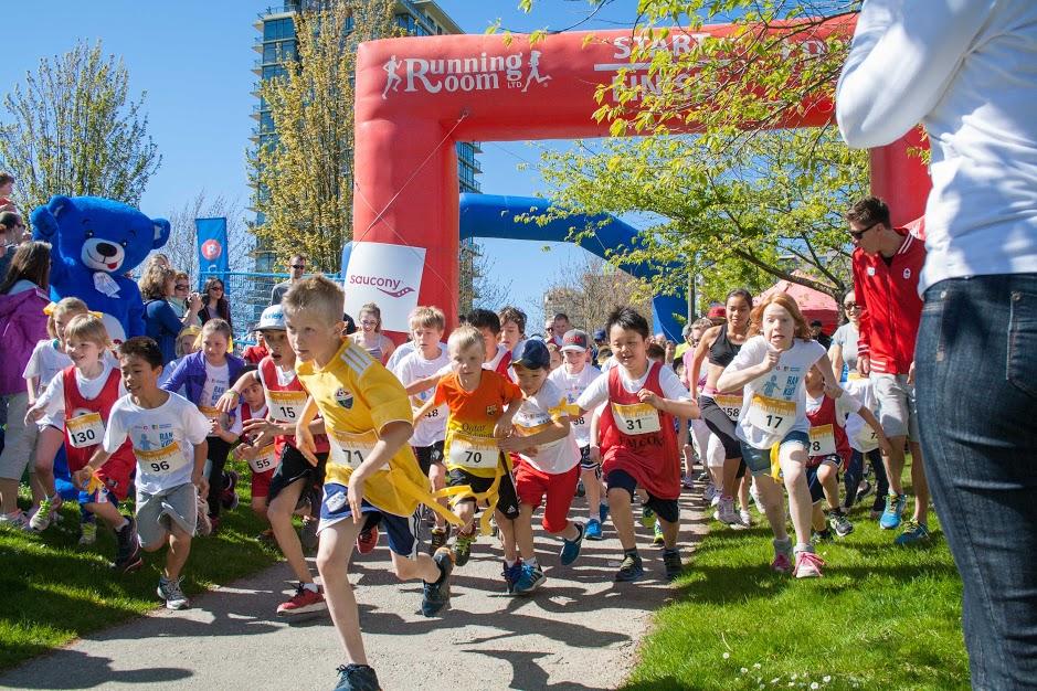 2014 Vancouver Marathon - Kids Run