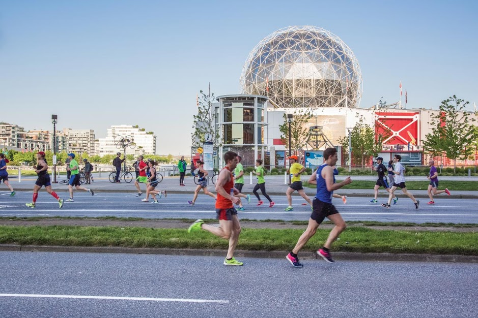 2015 Vancouver Marathon - Science World