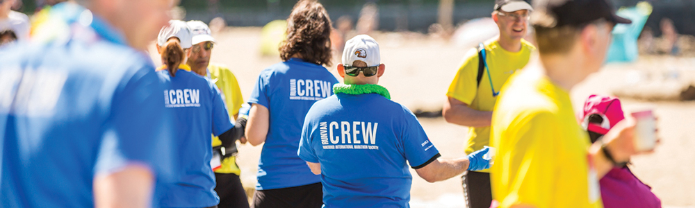 Vancouver volunteer opportunities. Join nearly 4,000 volunteers annually. Photo: Ivan Calderon / RUNVAN®