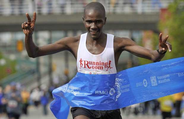 2009 Vancouver Marathon - Champion