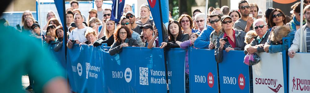 BMO Vancouver Marathon, Half Marathon, 8KM, Relay. Photo: Richard Lam / RUNVAN®