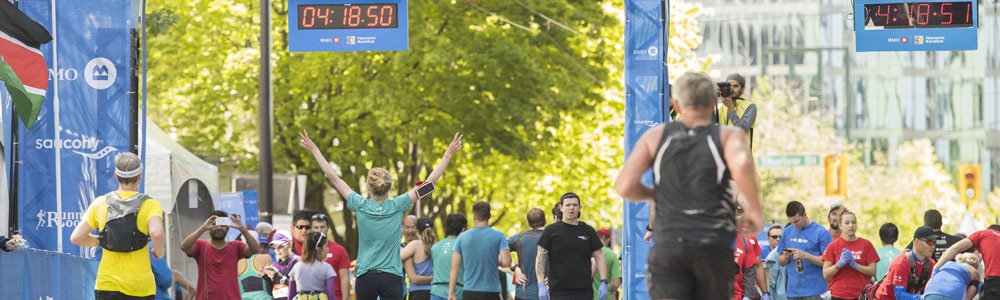 BMO Vancouver Marathon, Half Marathon, 8KM, Relay. Photo: Christopher Morris / RUNVAN®