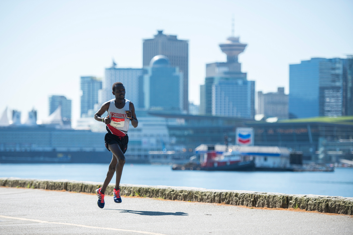 Daniel Kipkoech BMO Vancouver Marathon Elite