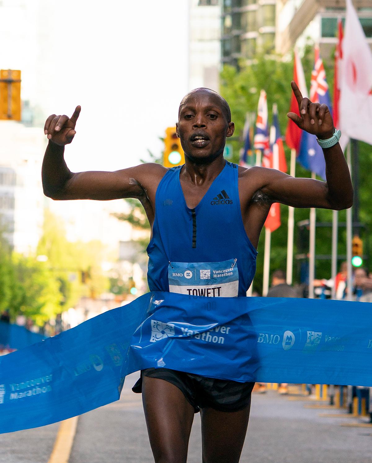 George Towett BMO Vancouver Marathon Elite