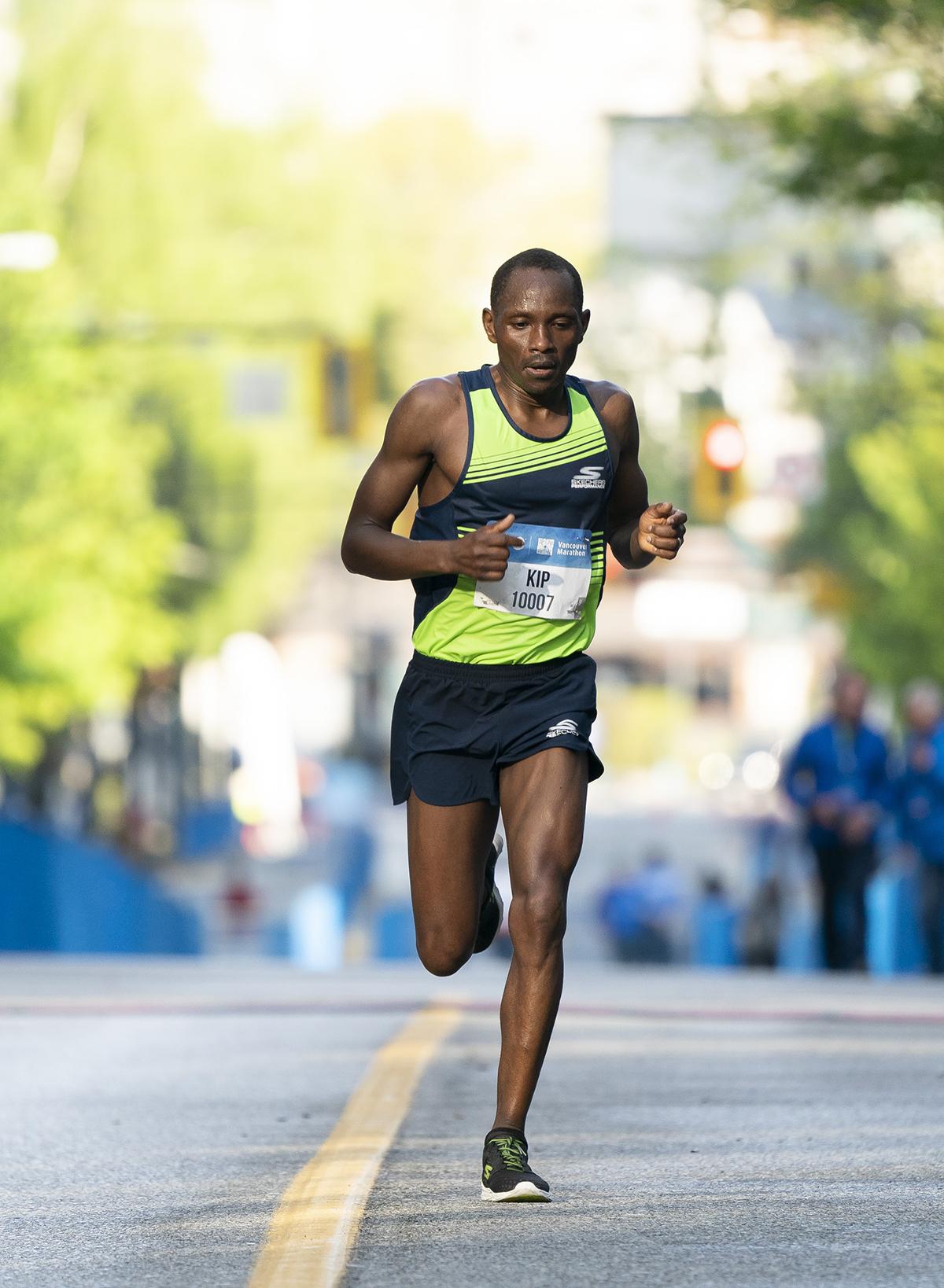 Kip Kangogo BMO Vancouver Marathon Elite