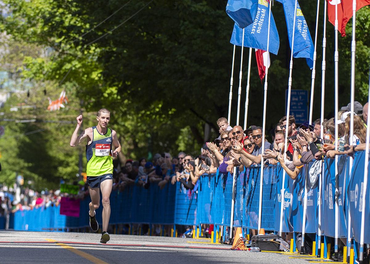 Robert Brouillette BMO Vancouver Marathon Elite