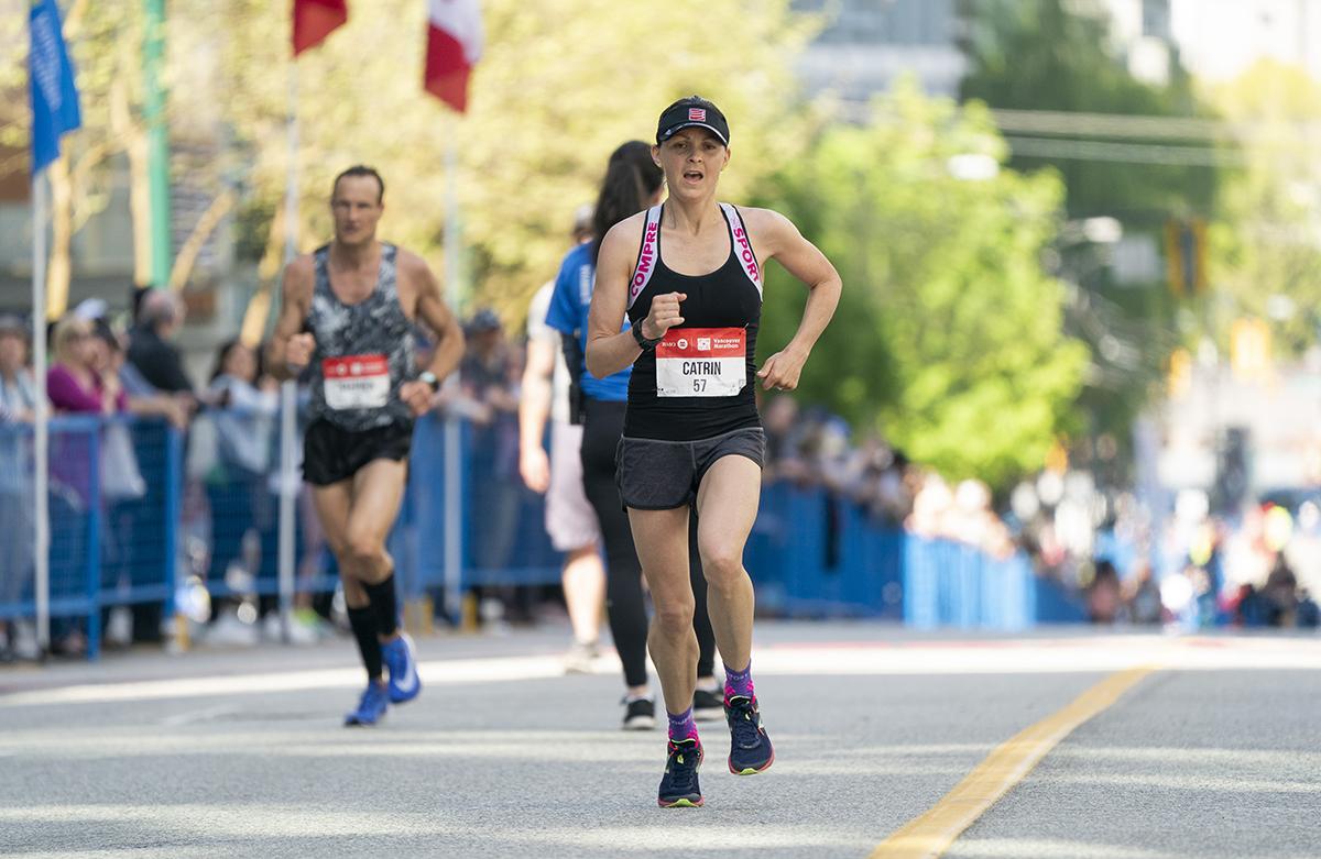 Catrin Jones BMO Vancouver Marathon Elite