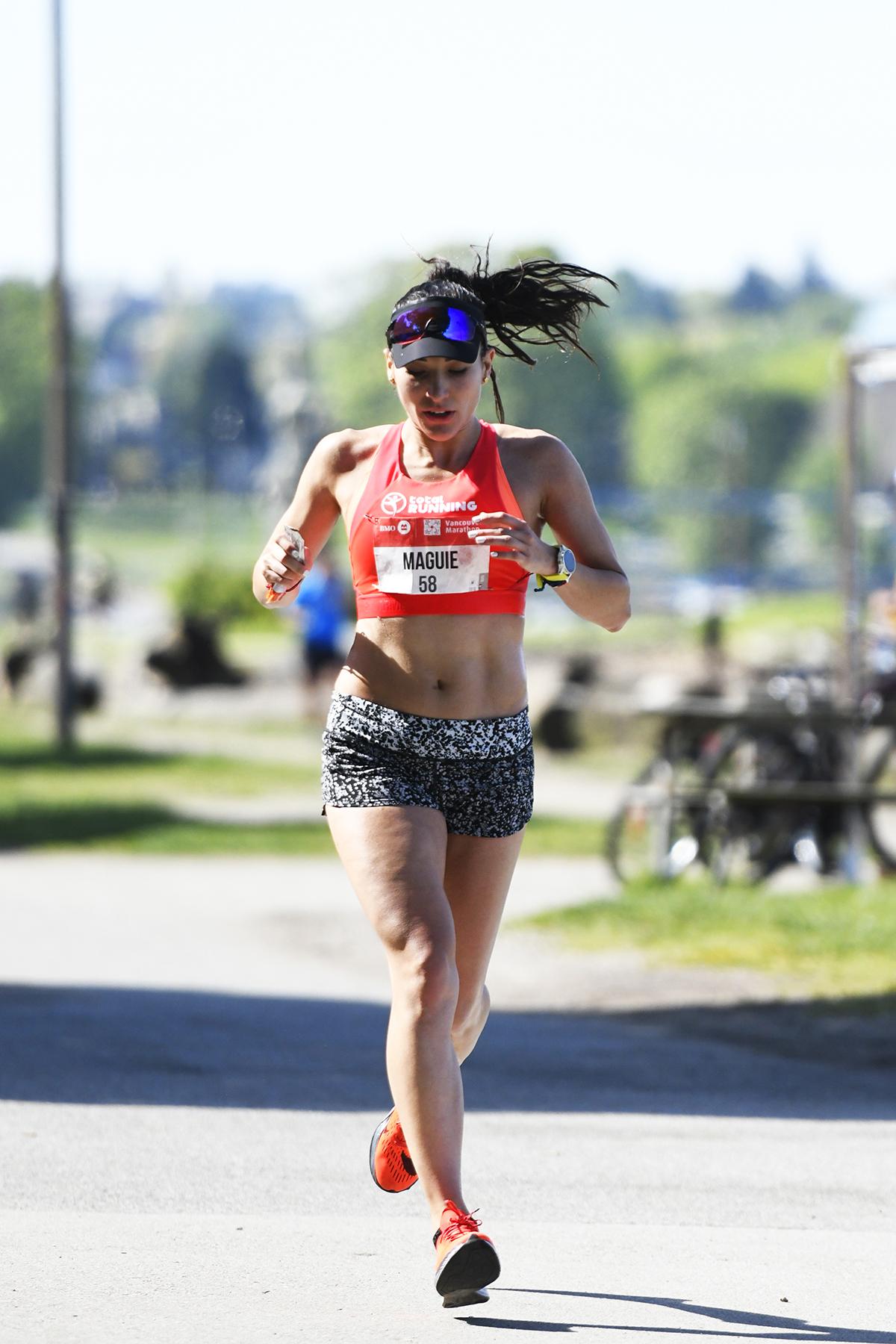 Margarita Quintero BMO Vancouver Marathon Elite