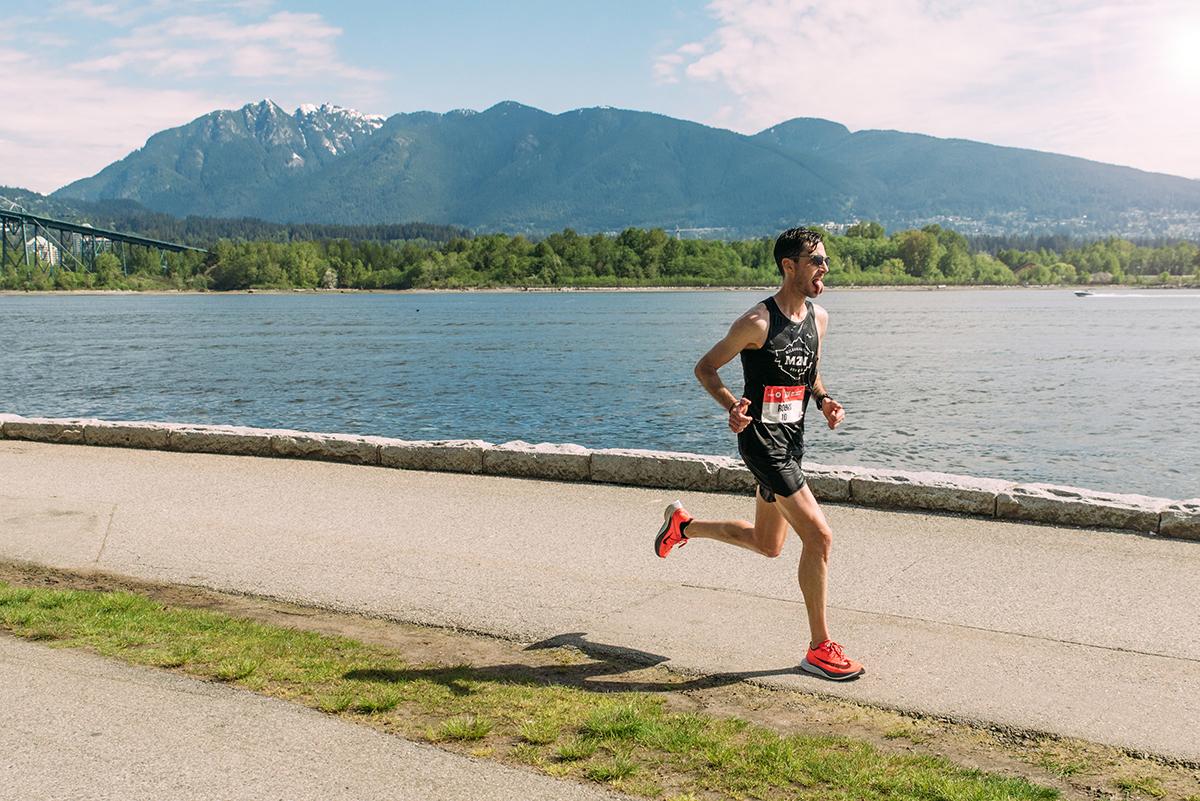 Rob Watson BMO Vancouver Marathon Elite
