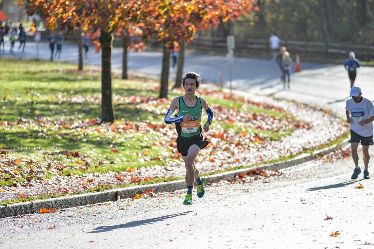 Brendan Wong BMO Vancouver Marathon Elite