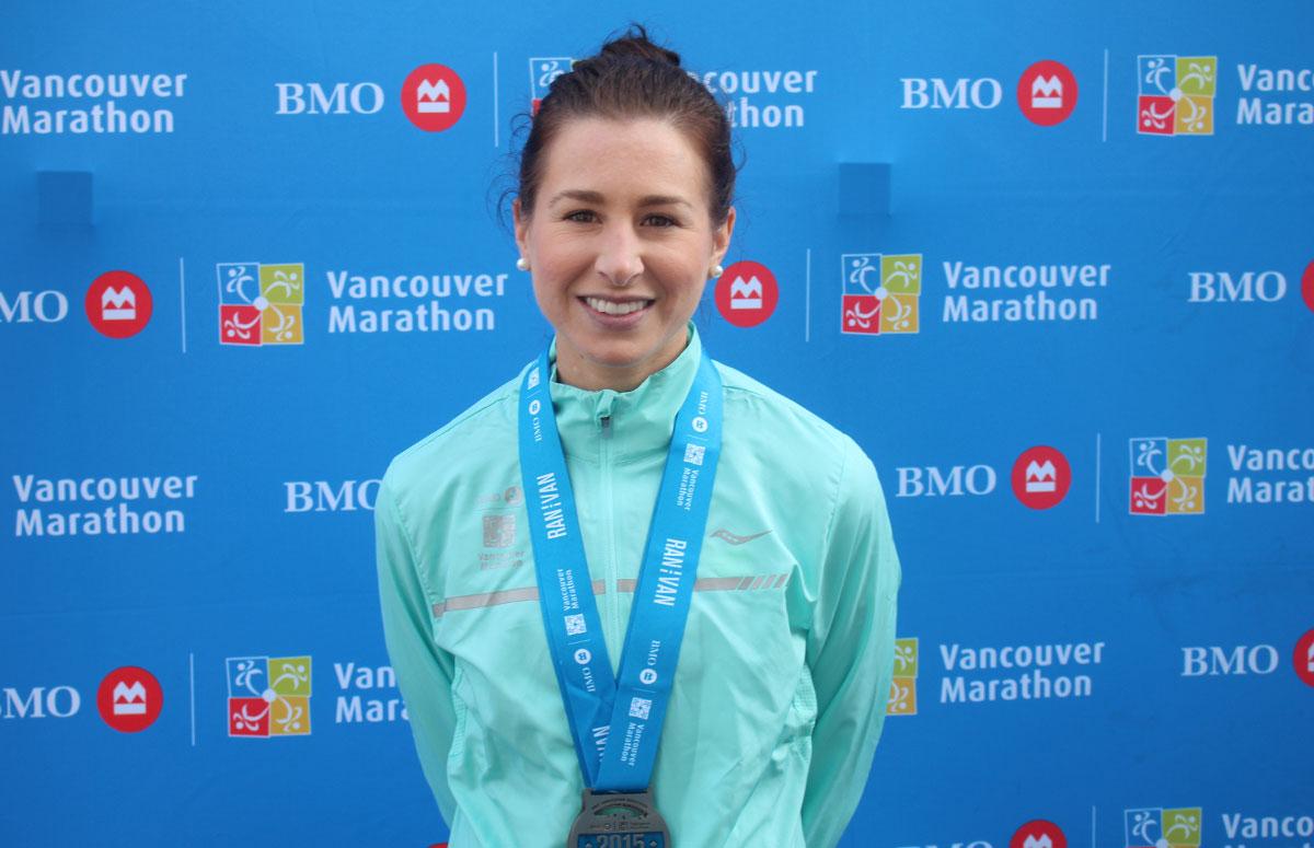Dayna Pidhoresky BMO Vancouver Marathon Elite