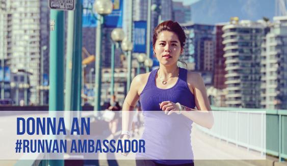 RUNVAN Ambassador Donna An