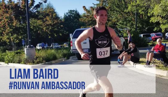 RUNVAN Ambassador Liam Baird