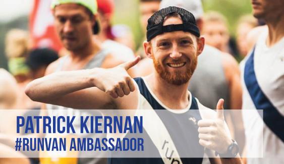 RUNVAN Ambassador Patrick Kiernan