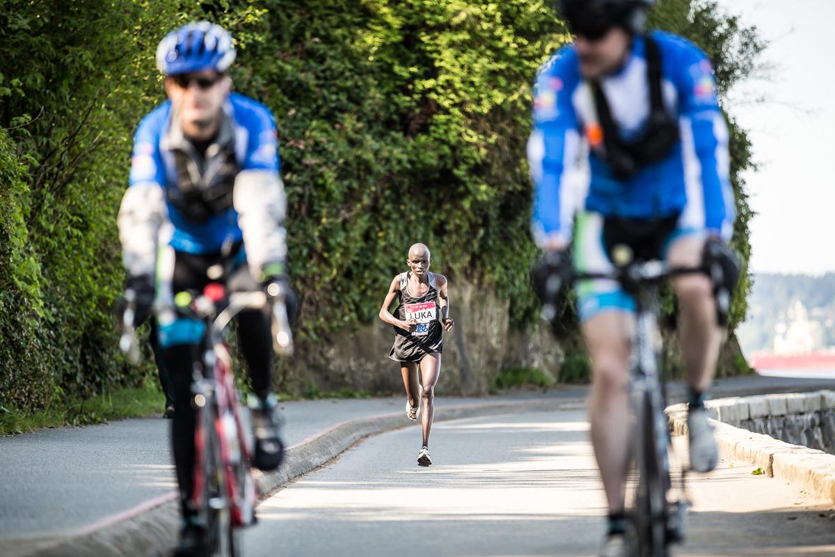 Luka Chelimo BMO Vancouver Marathon Elite
