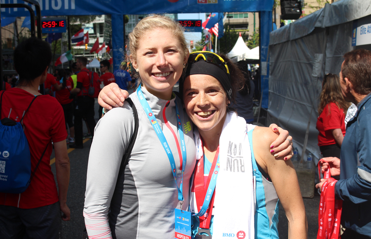 Ellie Greenwood BMO Vancouver Marathon Elite