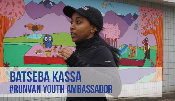 RUNVAN Youth Ambassador Batseba Kassa