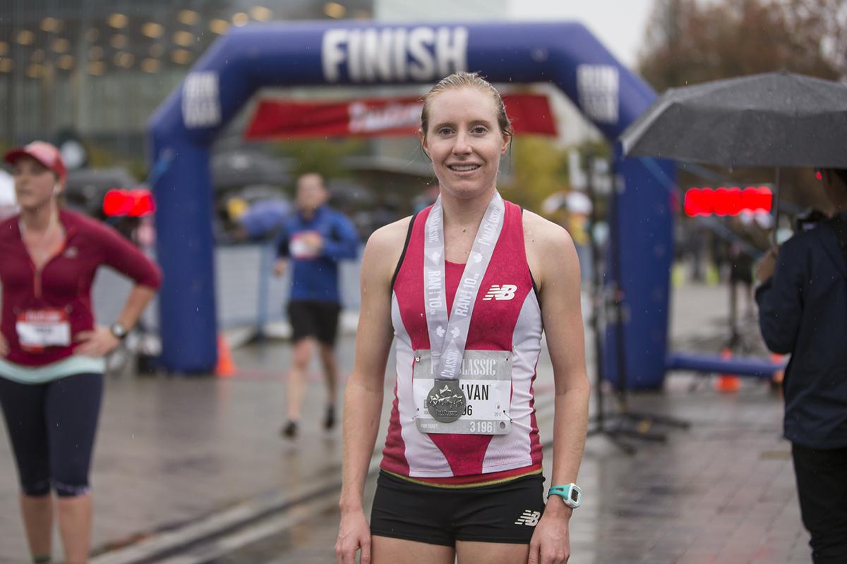 Robyn Mildren BMO Vancouver Marathon Elite