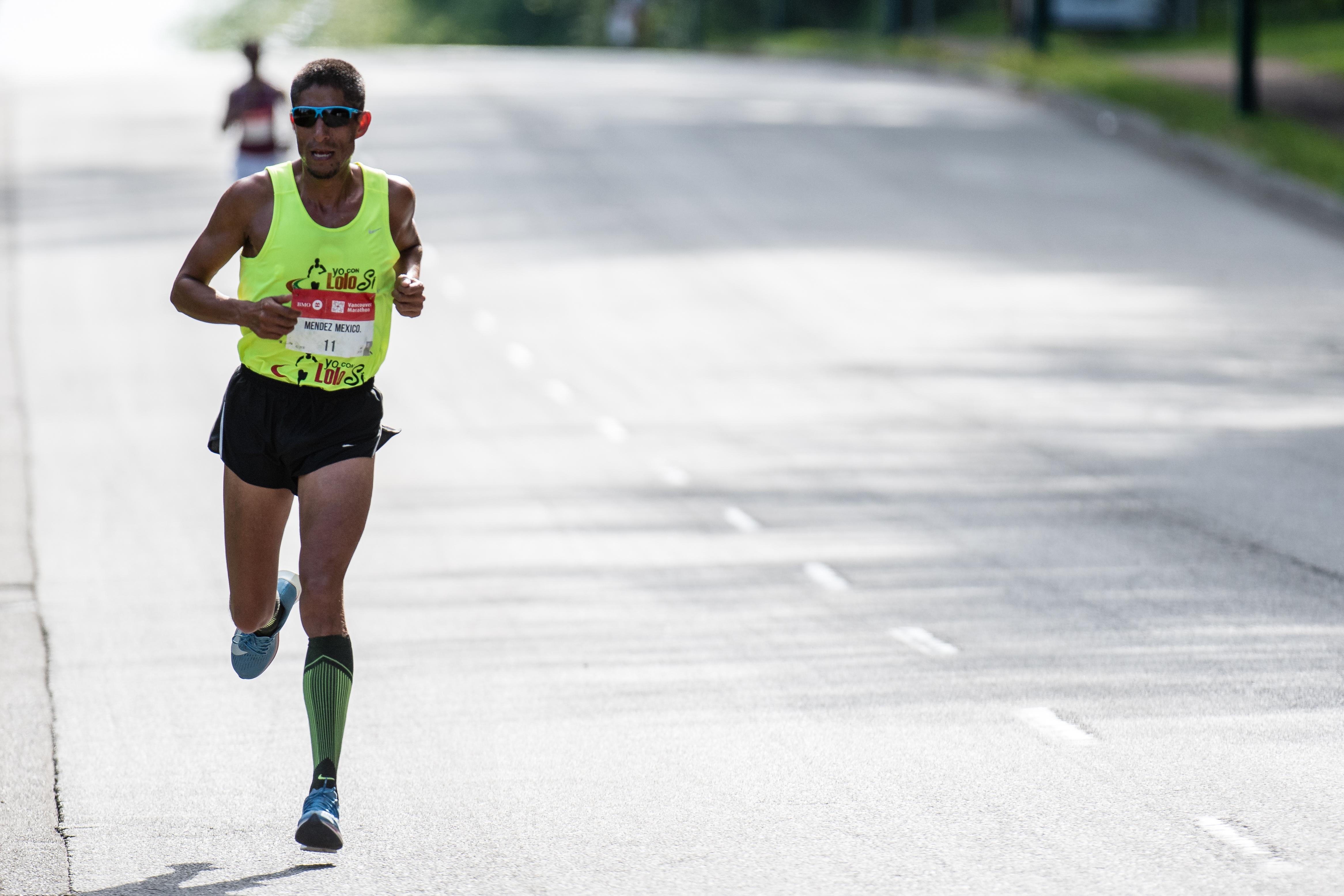 Felipe Mendez BMO Vancouver Marathon Elite